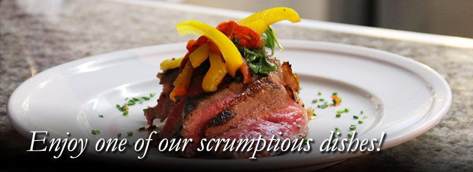 Enjoy our scrumptious dishes